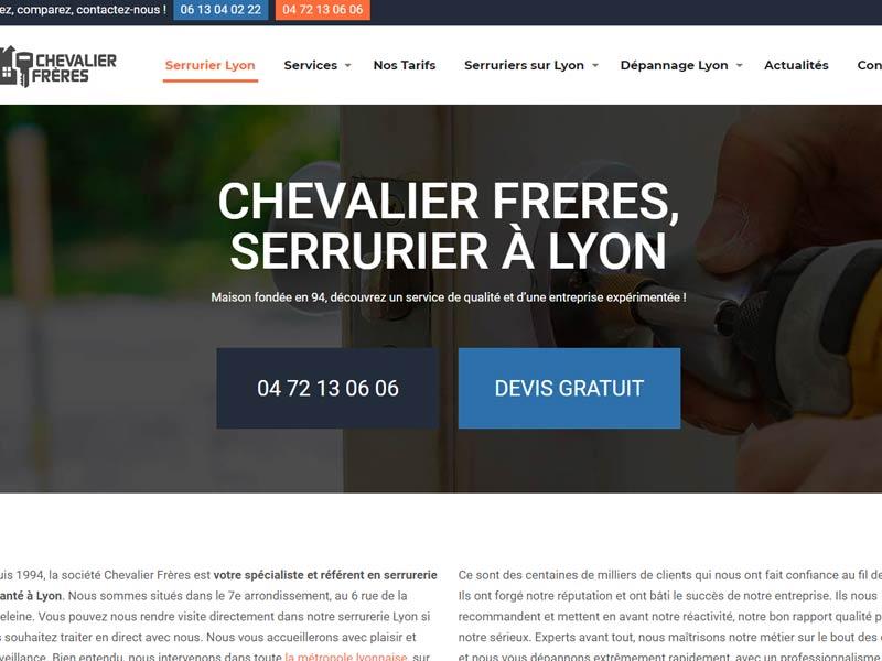 Chevalier Frères: serruriers à Lyon