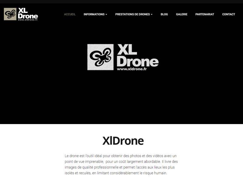 XlDrone : services par drones sur Grenoble