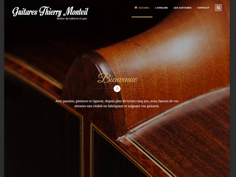 Thierry Monteil : Luthier