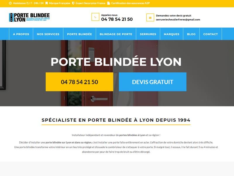 Porte blindée Lyon, expert en porte blindée à Lyon
