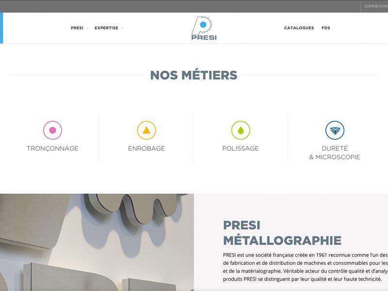 presi-metallographie